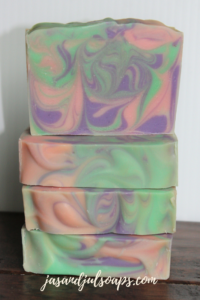 Lavender Mint Cold Process Soap by Jas and Jul Soaps